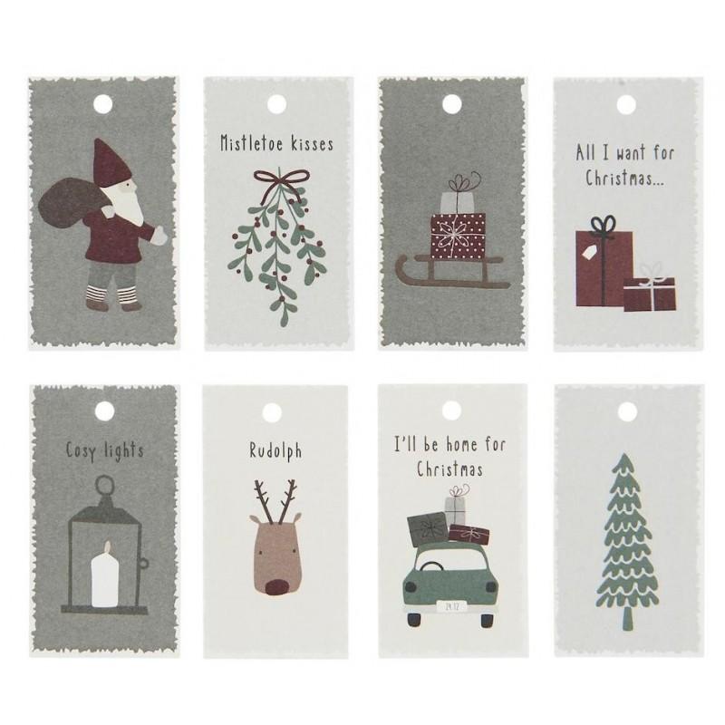 Til og fra kort - Jul