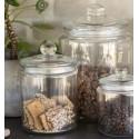 Glaskrukke fra Ib Laursen m. låg - 1900 ml