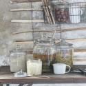 Glaskrukke m. låg fra Ib Laursen - 900 ml