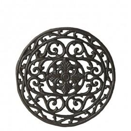 Bordskåner i jern med mønster