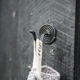 Knage spiralformet - sort