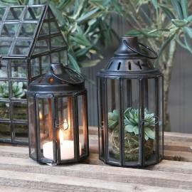 Lanterne m. glas - søjle H15