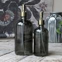 Sæbedispenser i glas m. 2 pumper - 480 ml
