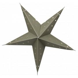 Vintage papirstjerne i grøn