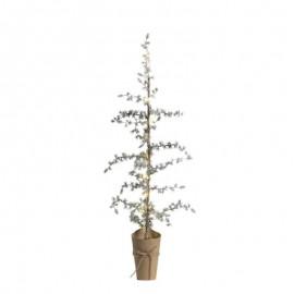 Kunstig cedertræ med LED lyskæde - 130
