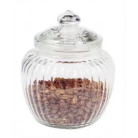 Glaskrukke fra Ib Laursen med riller