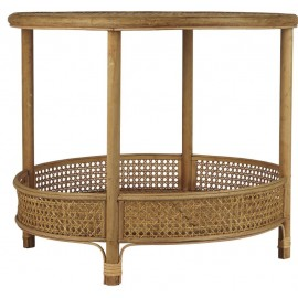 Sofabord i rattan fra Ib Laursen