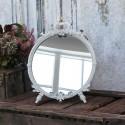 Spejl til bord med flot dekor