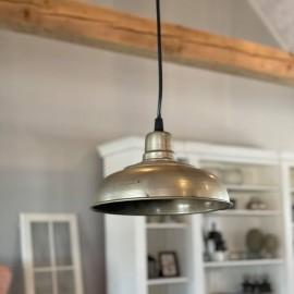 Loftslampe i metal - Ø20 cm.