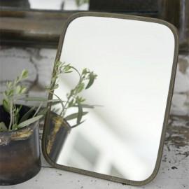 Spejl til bord m. metalramme