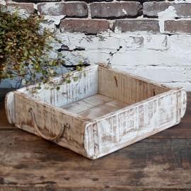 Murstensform dobbelt - antique hvid