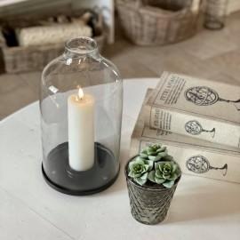 Lanterne fra Affari  i glas - 23 cm