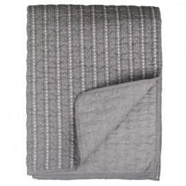 Quilt - vattæppe fra Chic Antique i grå, 130x180 cm