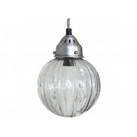 Loftslampe kugle i glas fra Chic Antique