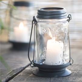 Lygte / lanterne til fyrfadslys fra Ib Laursen