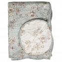Quilt / vattæppe med blomster Chic Antique 130x180 cm