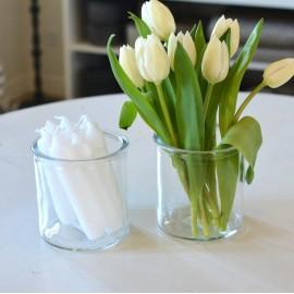 Vase i glas fra Affari