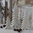 Juletræ i Antique Creme - 24cm.