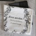 Viskestykke med fransk print fra Chic Antique