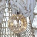 Julekugle m. LED lyskæde