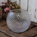 Vase med diamantudskæring