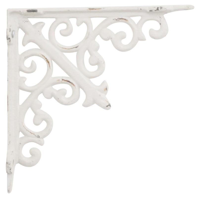 Smuk hyldeknægt i hvid med fransk mønster