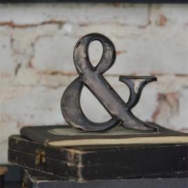 Bogstav i metal - 10 cm