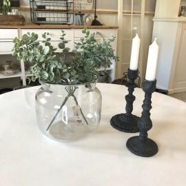 Glasvase i klar glas