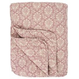 Quilt / vattæppe Peony fra Ib Laursen - rosa
