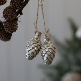Kogler med glimmer fra Chic Antique